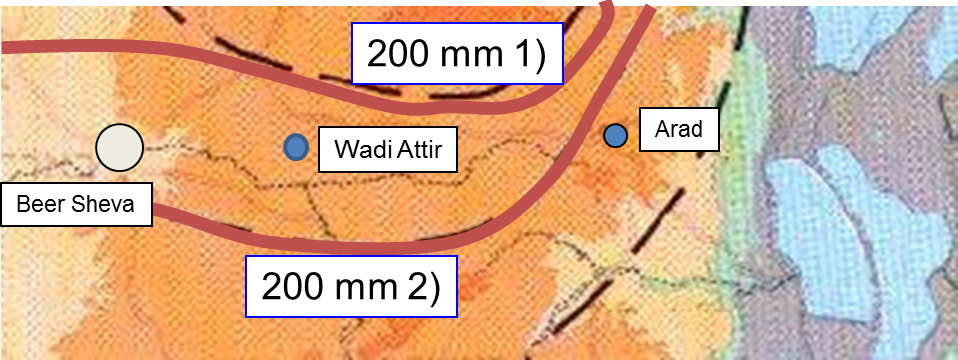 Current Climate at Wadi Attir