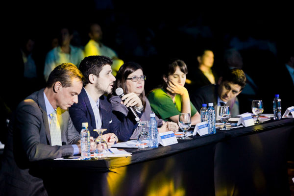 Judges at the Seedstars Regional Summit in San Jose, Costa Rica