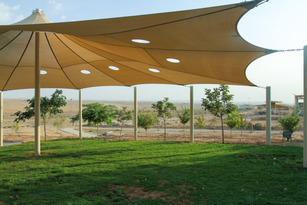 Project Wadi Attir shaded way-station