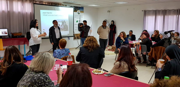 Visit from Kaye College's International Education Conference to Project Wadi Attir
