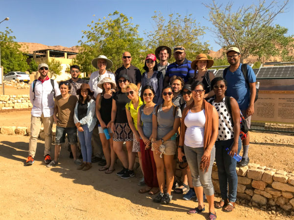 GSF 2018 Fellows at Arava Institute Technology Center